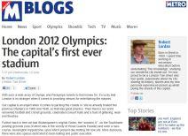 London's First Stadium