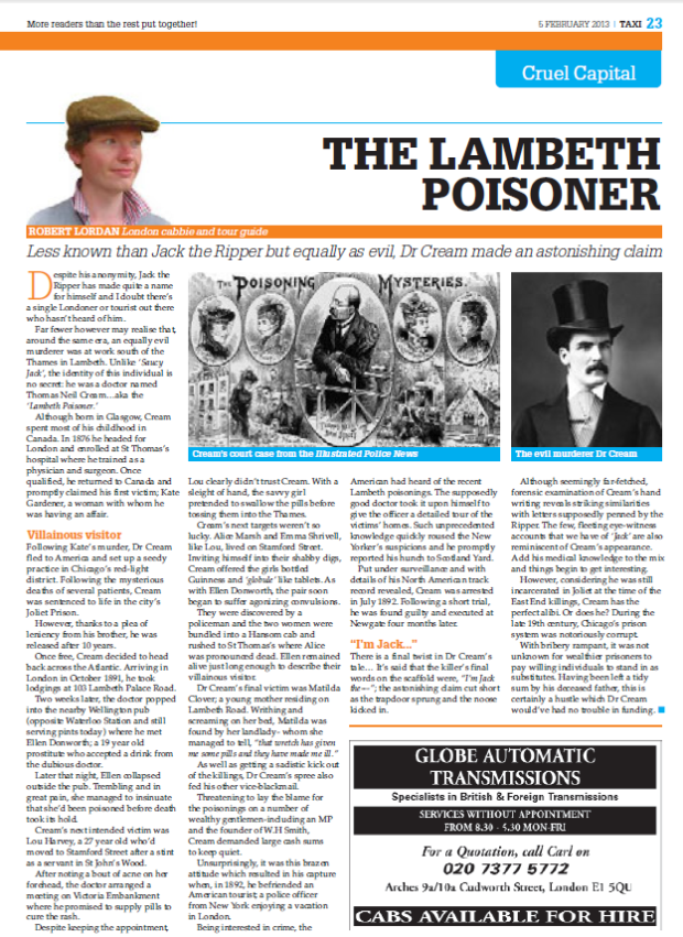 Lambeth Poisoner LTDA