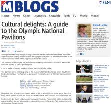 Olympic Pavilion Blog
