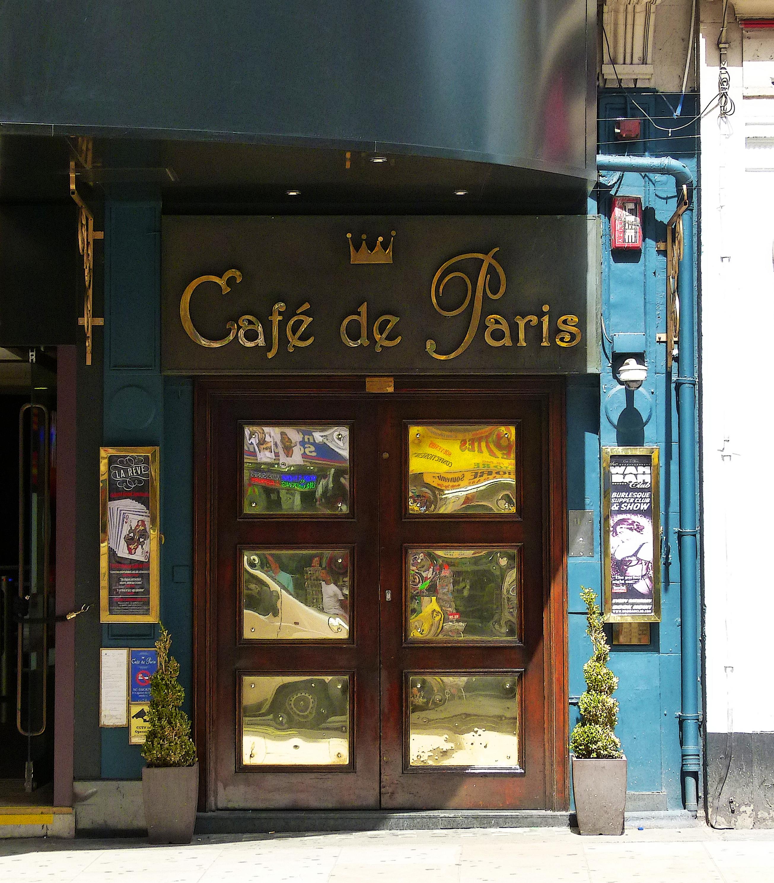 Cafe De Paris Club Leicester Square