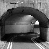 Lower Robert Street... a Ghostly Tunnel in the Heart of London