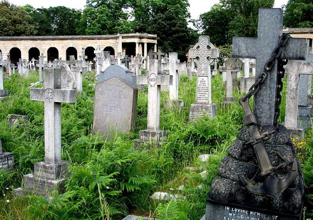 Brompton Cemetery (image: Wikipedia).