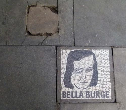 Bella Burge Mosaic, Southbank.