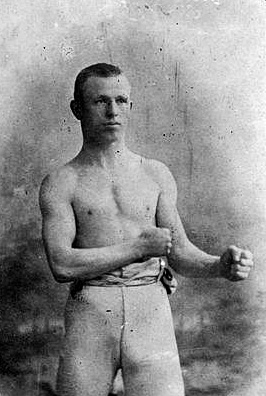 Dick Burge in his fighting days.
