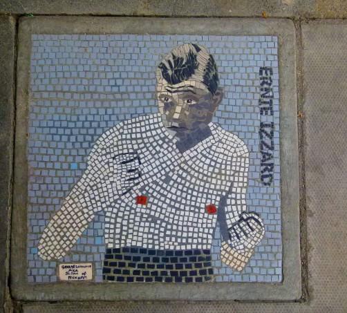 Ernie Izzard mosaic