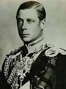 The controversial King Edward VIII who enjoyed a night at The RIng in his more carefree days...