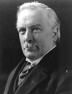 David Lloyd George...the former PM who displayed compassion at the Cannon Street Hotel. (Image: Wikipedia)