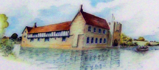 Artist's impression of King Edward's Rotherhithe retreat.