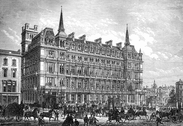 Cannon Street Hotel as pictured in the 'Illustrated London News'.