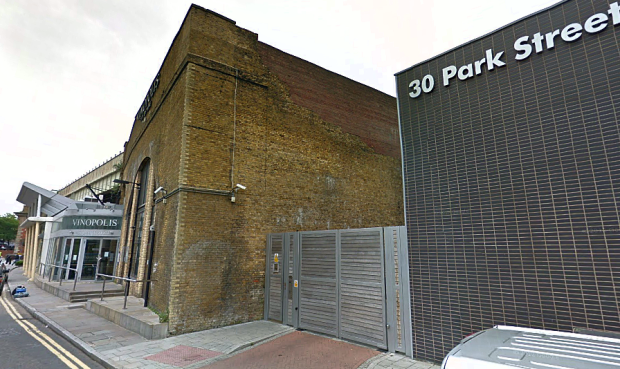 Location of the 1926 brewery crash, Park Street Southwark. The area is now home to the 'Vinopolis' wine attraction.