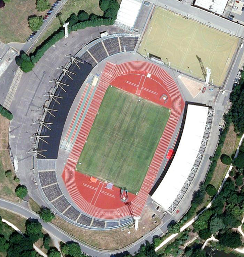 Crystal Palace Athletics Stadium (image: Google).