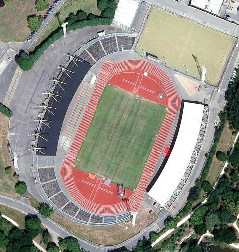 Crystal Palace Athletics Stadium (image: Google).