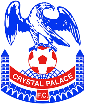 Crystal Palace F.C's crest- which incorporates symbols alluding to the original Great Exhibition building.