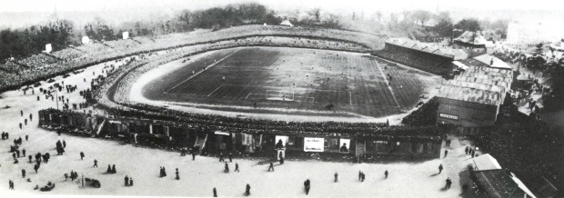 Crystal Palace Park stadium, 1905 (image: Wikipedia).