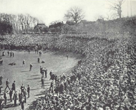 The F.A cup final, 1901 (image: Wikipedia).