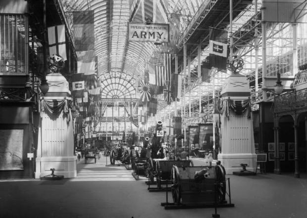 The Imperial War Museum at Crystal Palace, early 1920s (Image: Imperial War Museum).