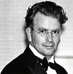 John Logie Baird, the Scottish television pioneer who based himself at Crystal Palace.
