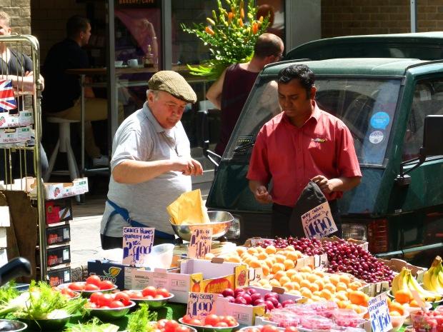 Beriwck Street Market in Soho.
