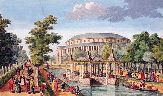 Ranelagh Pleasure Gardens, Chelsea.