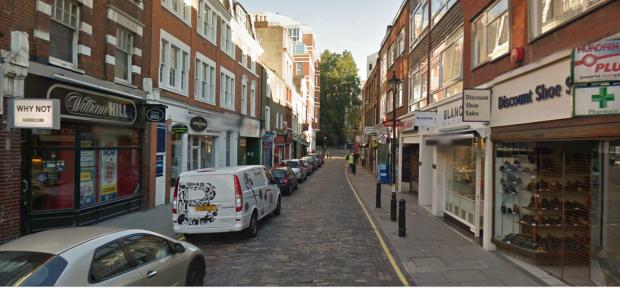 Strutton Ground (image: Google Streetview).