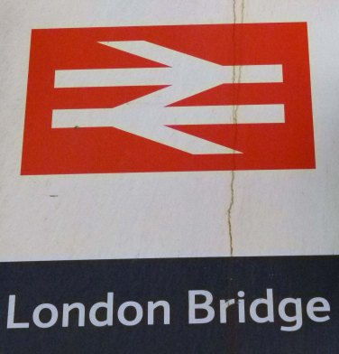 British rail sign