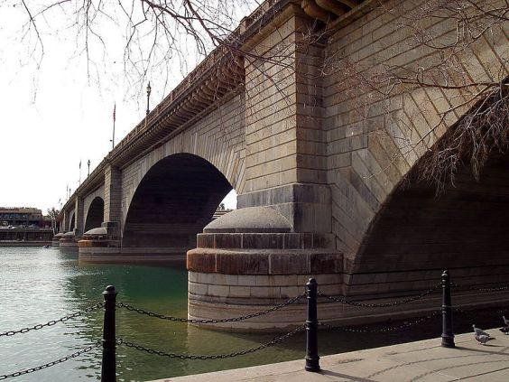 John Rennie's London Bridge as it now stands in Arizona...