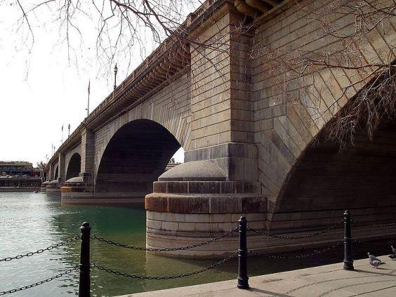 John Rennie's London Bridge as it now stands in Arizona...