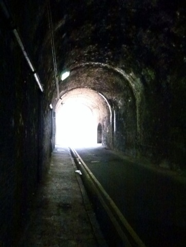 Linsey Street: one of the London to Greenwich viaduct's many atmospheric arches....