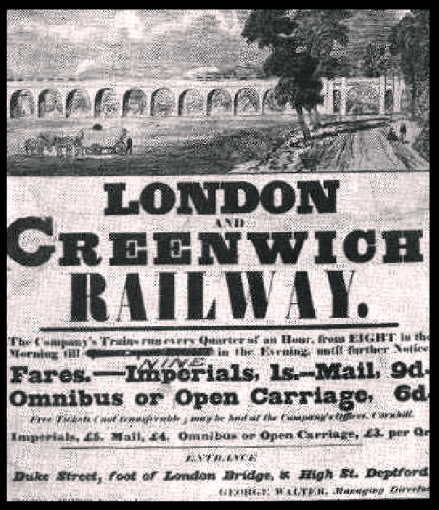 London and Greenwich Poster