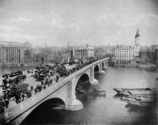 John Rennie's London Bridge.