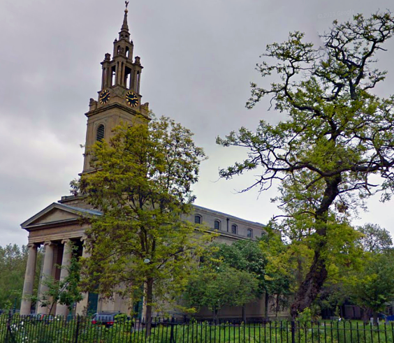 St James's Bermondsey today (image: Google Streetview).