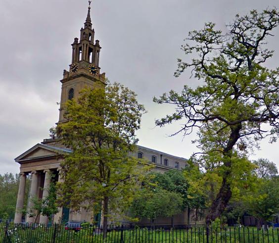 St James's Bermondsey today (image: Google Streetview).