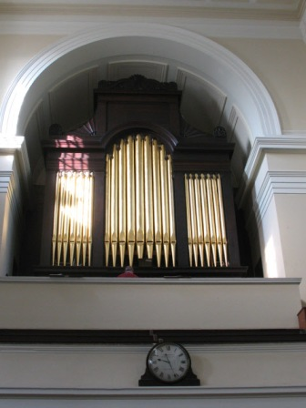 St James's Organ (image: copyright Stephen Craven via Geograph).