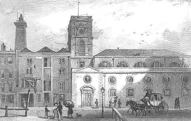 St Olave's Church (image: London Ancestor.com)