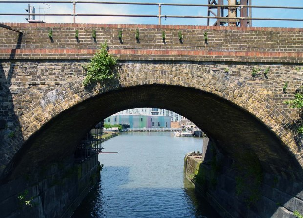 The arches cross Deptford Creek.