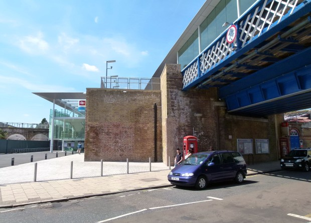 Deptford Station today.