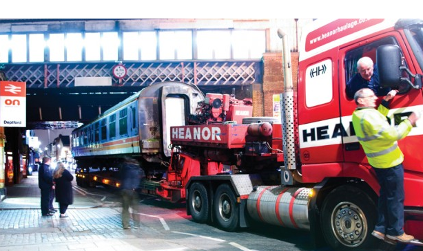 The carriage arrives in Deptford (Image: The Deptford Project).