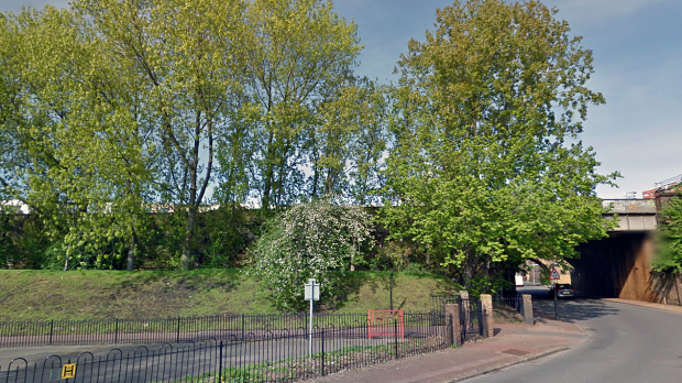Folkestone Gardens (Image: Google).