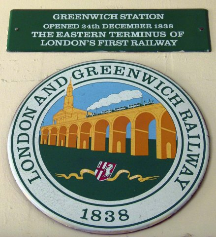 London Greenwich Plaque