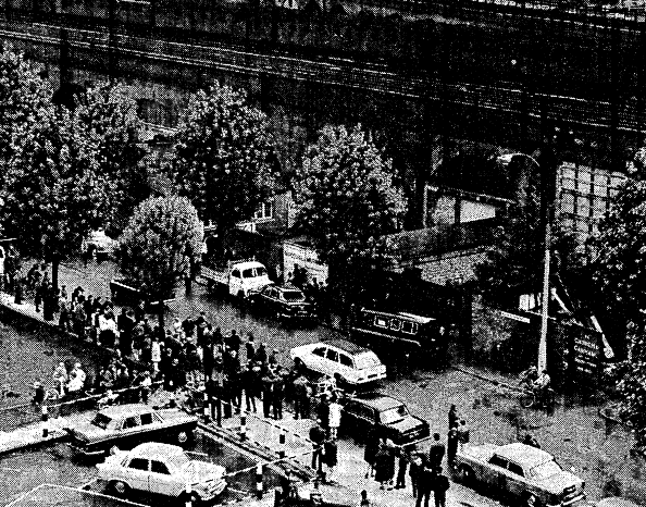 Raymouth Road, August 1966 (image: The Times).