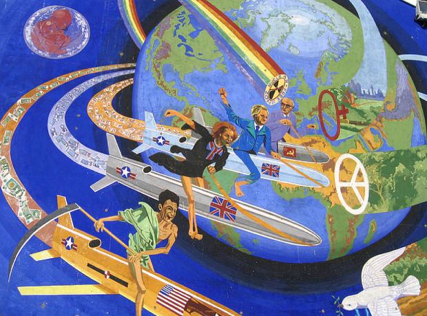 Riders of the Apocalypse (Image: London Murals website).