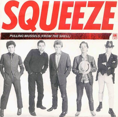 Squeeze single cover, 1980.