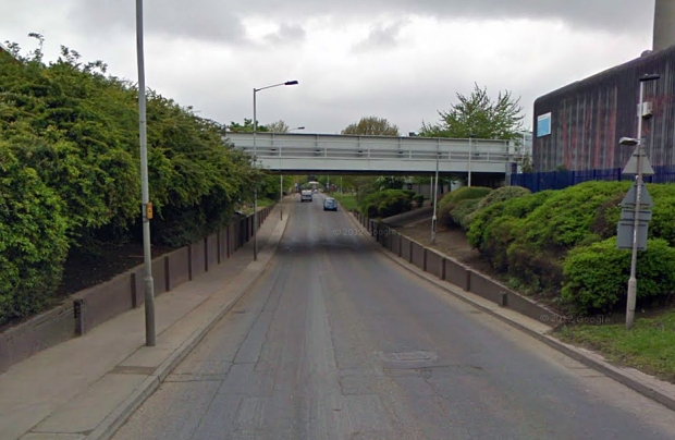 Surrey Canal Road, a route which was once water... (Image: Google).