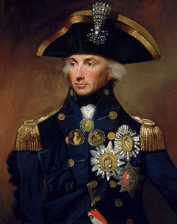 Lord Admiral Horatio Nelson in his prime.