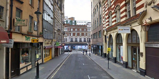 Bedford Street today (image: Google)