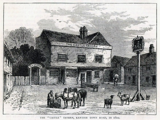 The original Castle Tavern (image: pubhistory.com)