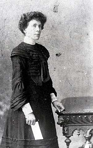 Eugenie Loyer pictured in her later life.