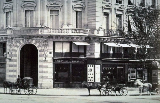 Goupils and Cie's Parisian branch.