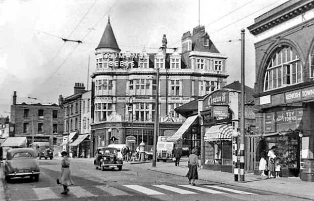 Kentish Town Road, 1955 (image: Wikipedia)