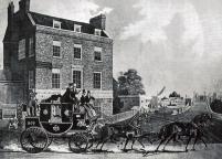 Kew Bridge Turnpike, 1833.
